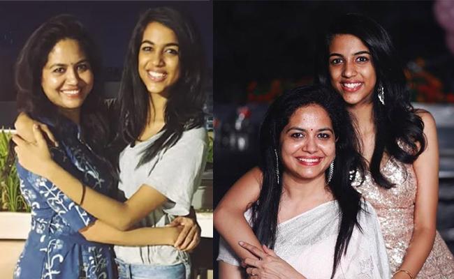 Singer sunitha shared her dauther Shreya video - Sakshi