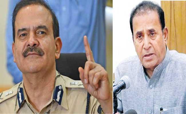 Ex-Mumbai top cop Param Bir Singh accuses Home Minister Anil Deshmukh - Sakshi