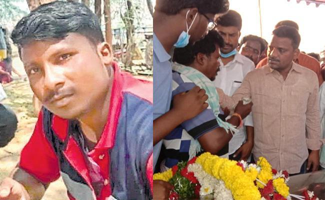 Man Upset To Deceased Over Thinmar Mallanna MLC Election Defeat - Sakshi