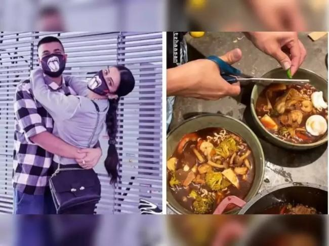 Viral: Shruti Haasan Cooks Dinner For Rumoured Boyfriend Santanu Hazarika - Sakshi
