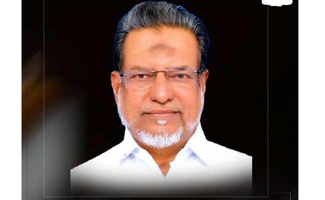 AIADMK MP Mohammed John Died With Heart Attack - Sakshi