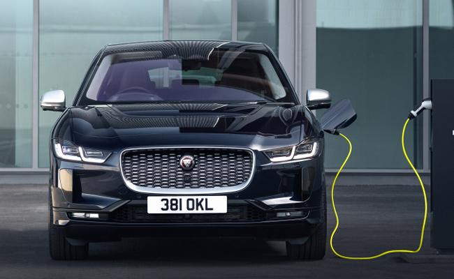 JLR First electric SUV I Pace launched in India - Sakshi