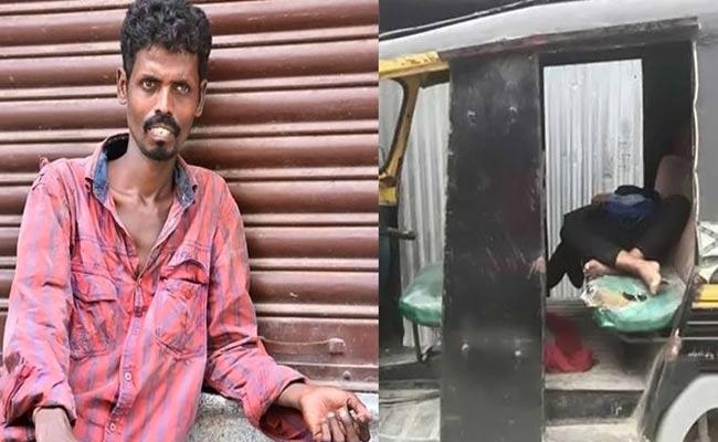 Actor Virutchagakanth Babu Found Dead In An Autorickshaw  - Sakshi