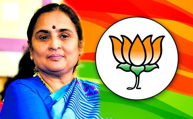 Ratna Prabha Is BJP Candidate For The Tirupati Lok Sabha Bypoll - Sakshi