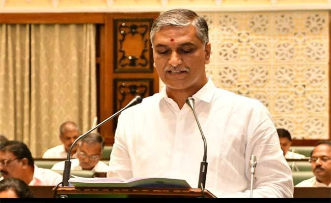 Minister Harish Rao Full Clarity About Jobs in Telangana Assembly 2021 - Sakshi