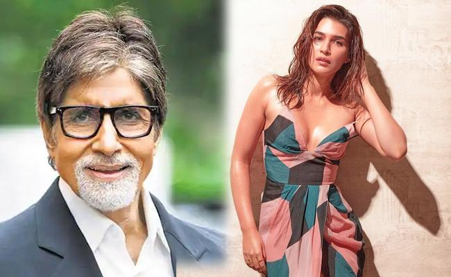 Amitabh Bachchan Reacts To Kriti Sanon Dress Comment Goes Viral - Sakshi