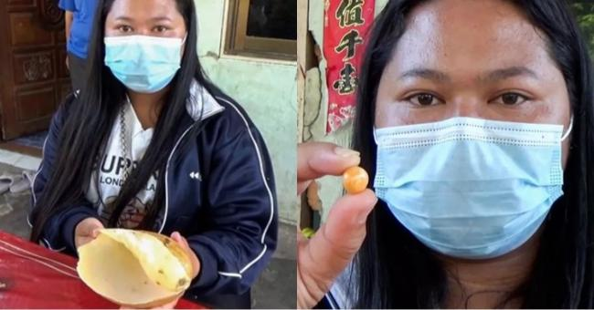 Thailand Woman Finds Orange Melo Pearl Worth Crores of Rupees - Sakshi