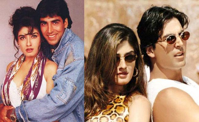 Akshay kumar And Raveena Tandon Love Story In Telugu - Sakshi