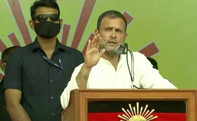 Tamil Nadu Next CM Will Be Stalin I Guarantee It Says Rahul Gandhi - Sakshi