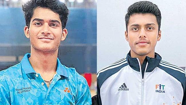 Orleans badminton: India Garaga-Panjala in mens doubles final - Sakshi