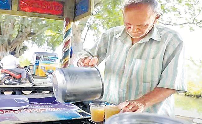 Subbarao Orange Juice Famous In East Godavari - Sakshi