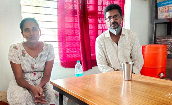 Vizag: Police Registered A Cheating Case On A Teacher And His Wife - Sakshi