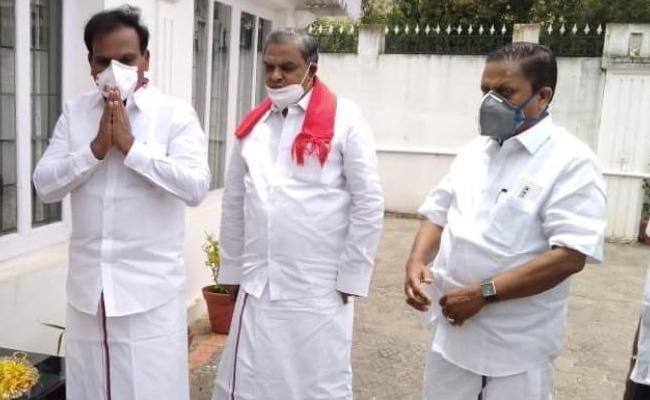 DMK Leader A.Raja Apologies On CM Palaniswami Statements - Sakshi