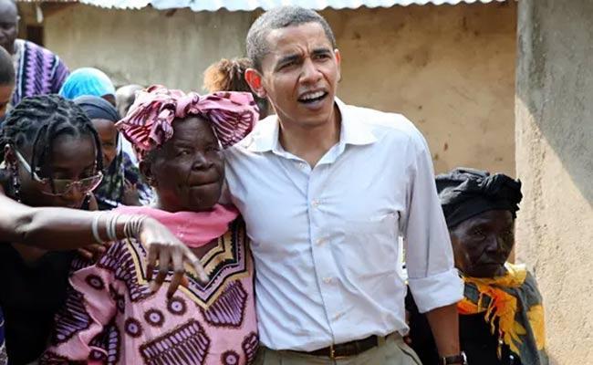 Obama Grandmother Sarah Obama Passed Away - Sakshi