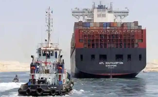 Massive ship blocking the Suez Canal has been freed Video Watch here - Sakshi