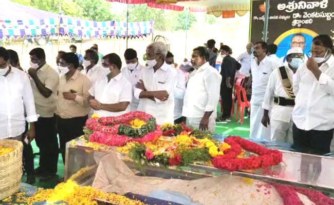 Badvel MLA Venkata Subbaiah Funeral Program In YSR Kadapa - Sakshi