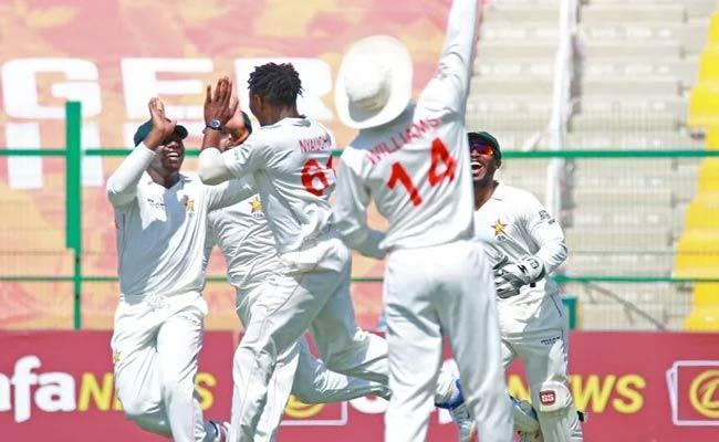 Zimbabwe Stun Afghanistan Winning Test Match With In Two Days - Sakshi