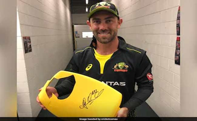 Seat Broken By Maxwell Sixes Going To Be Auctioned For Charity - Sakshi