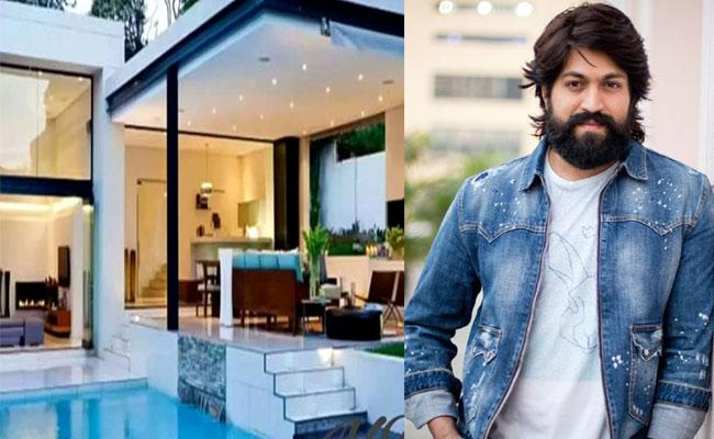 Viral Pics Of KGF Actor Yash New Luxurious House In Bengaluru - Sakshi