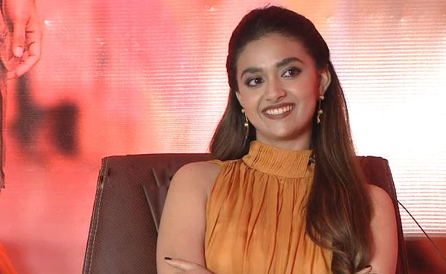 Keerthy Suresh Comments About Her Future Husband Qualities - Sakshi