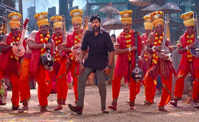 Megastar Chiranjeevi Acharya Movie First Song Out - Sakshi