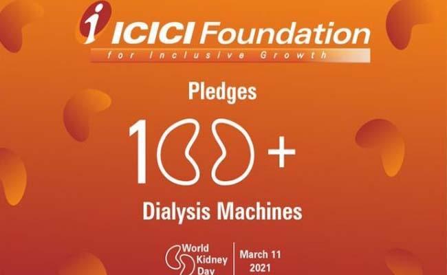 ICICI Foundation To Donate Imported Dialysis Machines  - Sakshi