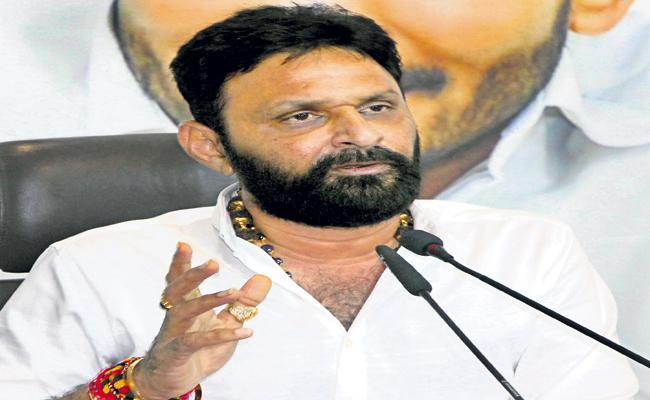 Kodali Nani Comments On Chandrababu Naidu - Sakshi