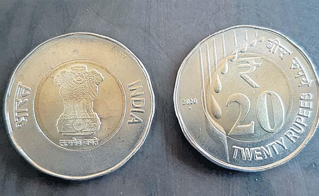 RBI RS 20 Coins Come Into Circulation In Market - Sakshi