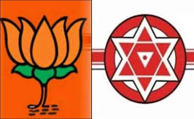 BJP And Janasena Alliance competition in Tirupati by-election - Sakshi