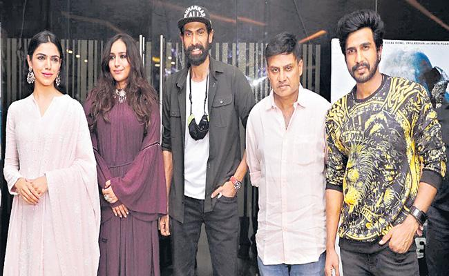 Aranya Movie Team Press Meet - Sakshi