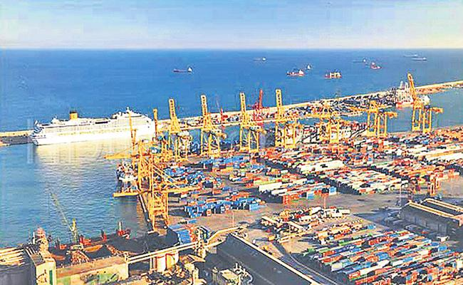 Capacity of state ports is 300 million tons in nine months - Sakshi