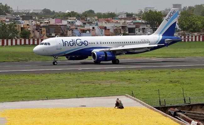 Pilot cancels takeoff after IndiGo passenger says he COVID positive - Sakshi
