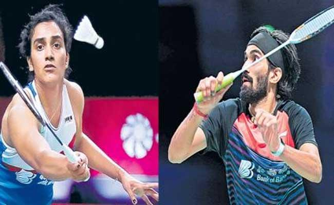 PV Sindhu, Kidambi Srikanth Enter To Semifinals In Swiss Open  - Sakshi