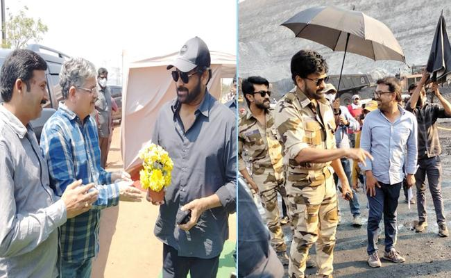 Acharya Movie Shooting Started In Kothagudem Yellandu Opencast - Sakshi