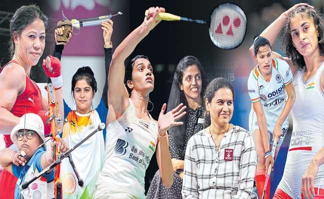 Women Sports Stars Waving the Indian Flag Internationally - Sakshi