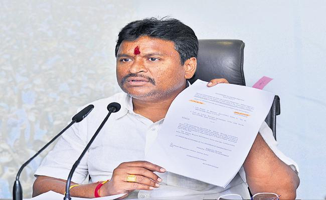 Vellampalli Srinivas Fires On Chandrababu Naidu - Sakshi