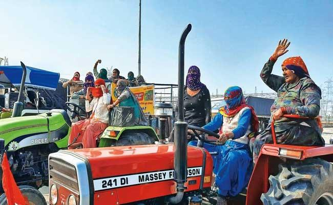Women to take centre stage at farmers protest sites at Delhi other borders - Sakshi