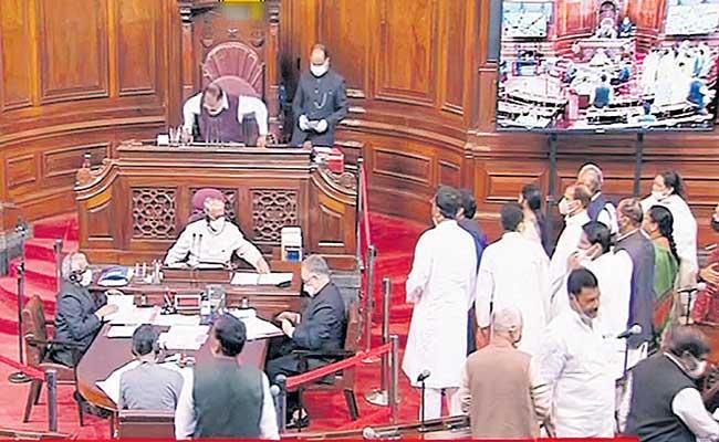 Budget session sees Opposition stir on fuel price hike - Sakshi