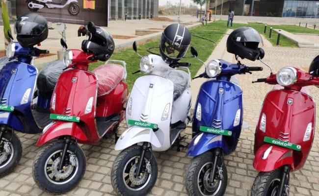 Pure EV Launches High Speed epluto 7G Electric Scooter - Sakshi