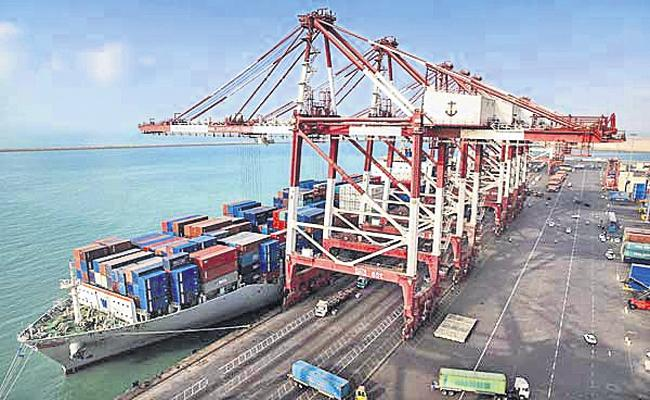 Bandaru port construction at a cost of Rs 3,650 crore - Sakshi
