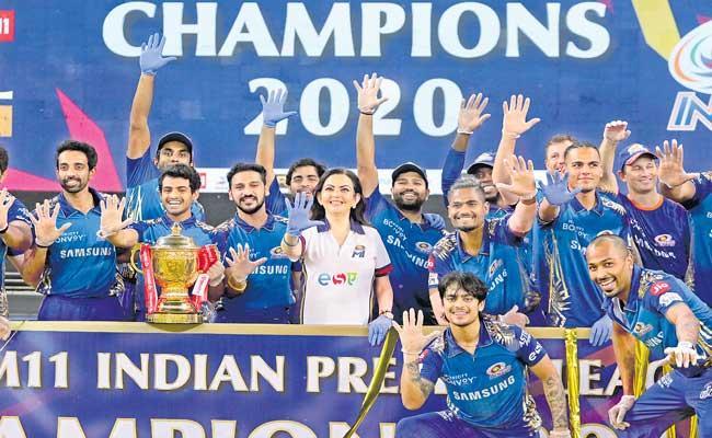 IPL 2021: Can five-time champions Mumbai Indians do an encore - Sakshi