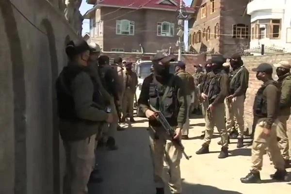 Terrorists Attack BJP Leader Anwar Khan Residence in Jammu and Kashmir - Sakshi