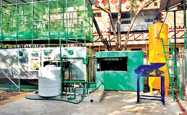 Biogas Production From Food Wastes In Bowenpally And Erragadda - Sakshi