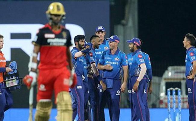 IPL 2021: Did RCB vs Mumbais First Match Complete In Time Bound - Sakshi