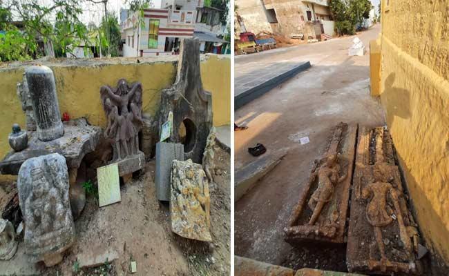 Researchers Have Identified Millennial Sculptures In Guntur District - Sakshi