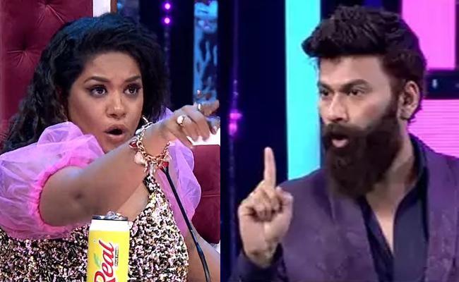 Omkar Vs Mumaith Khan In A Heated Argument Promo Out - Sakshi