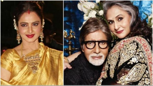 When Jaya Bachchan Reacted on Amitabh BWhen Jaya Bachchan Reacts on Amitabh Bachchan and Rekha Alleged affairachchan and Rekhaalleged affair - Sakshi