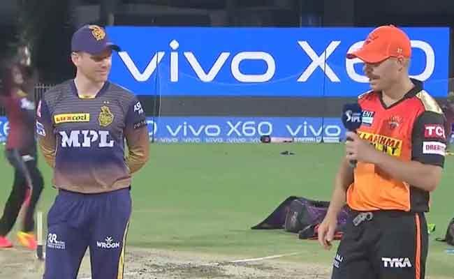 IPL 2021:Third Match SRH Vs KKR Live Upadates Highlights - Sakshi