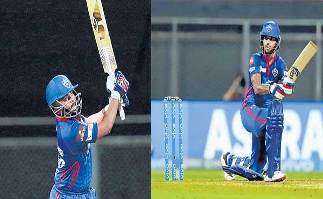 Delhi Capitals beat Chennai Super Kings by 7 wickets - Sakshi
