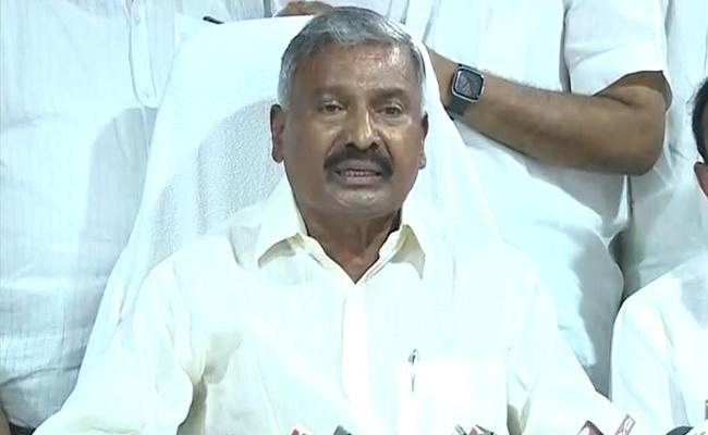 Minister Peddireddy Ramachandra Reddy Fires On TDP And BJP - Sakshi